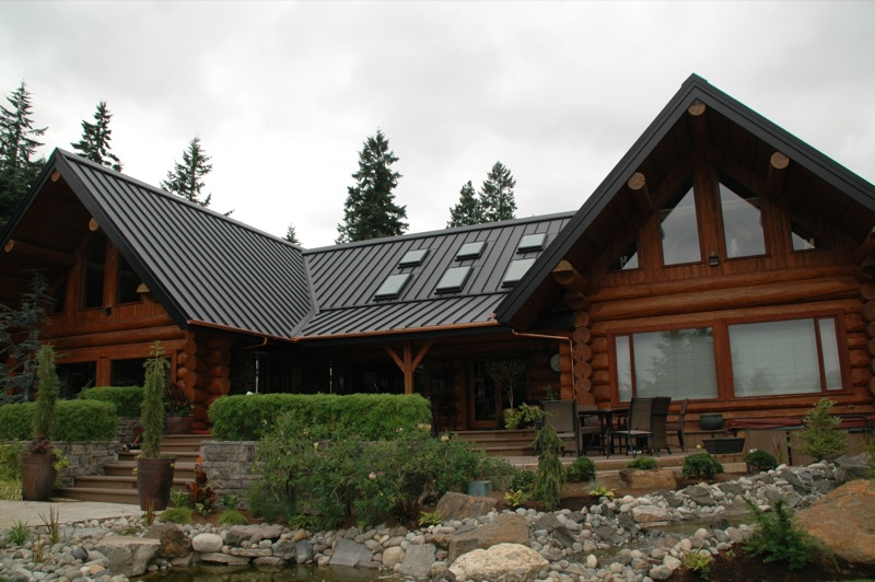 Metal Roofs For Log Homes Homemade Ftempo